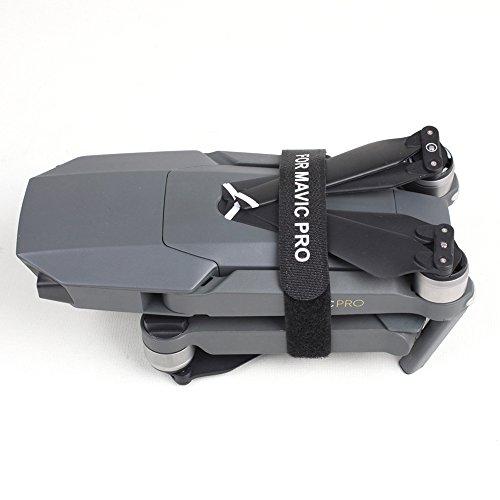 Kingwon 2 pezzi Supporto Motore elica Elicoidale Protector Guard per DJI Mavic Pro Drone Trasporto Accessori di Protezione (Nero)