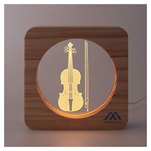 Creative Music 3D Night Light