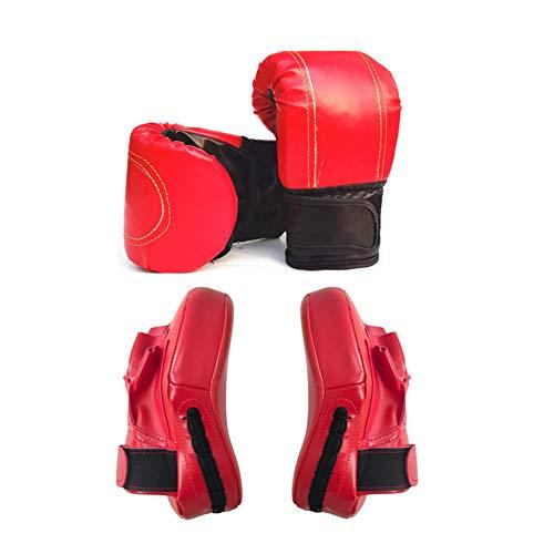 Lidylinashop Guantillas Karate Guantes Boxeo Mujer Golpe DE Guantes de Boxeo para Artes Marciales Boxeo Almohadillas Guantes de Boxeo para Kickboxing