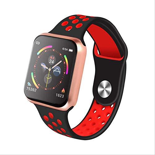 Naiku F9 Sport Smart Watch Ip67 Impermeable Frecuencia Cardíaca Pantalla Táctil Completa Smartwatch para Apple Android Watch PK F8 W34 Iwo 8 China F9 Oro Rojo