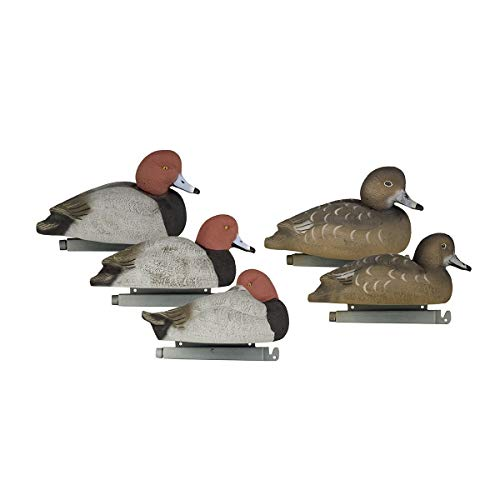Tanglefree Flight Series Redhead Decoy Pack of 6 - High Density Foam Filling Time Tested Weighted Keel