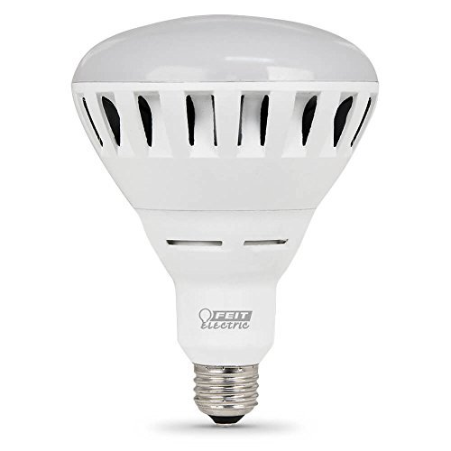 Feit Electric BR40/DM/2500/3K/LED Electric Br40/Dm/2500/3K/L Dimmable Led Lamp, 36 W, 120 V, Bulged Reflector, 25000 Hr, BR40 Indoor