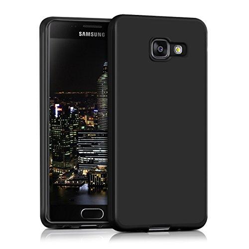 kwmobile Hülle kompatibel mit Samsung Galaxy A3 (2016) - Hülle Handyhülle - Handy Hülle in Schwarz matt