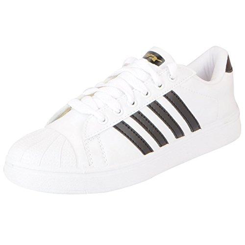 Sparx Men's White Black Sneakers-7 UK/India (40.67 EU) (SD0323G_WHBK0007)