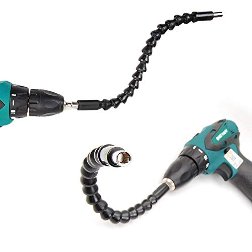 Yosoo Flexible Verlängerung Schraubendreher Bohrer-Bithalter mit magnetischer Schnellantriebswelle Spitze