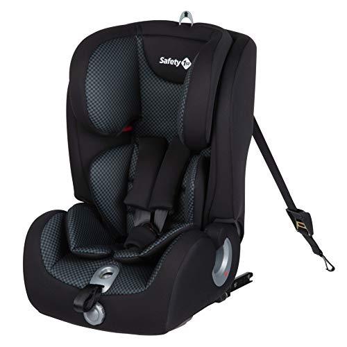 Safety 1st Ever Fix Siège Auto pour Enfant Evolutif Groupe 1/2/3 Isofix 15 Mois à 10/12 Ans Pixel Black 9-36 kg