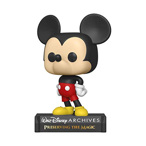 Funko- Pop Disney: Archives-Current Mickey Figura Coleccionable, Multicolor (49893)