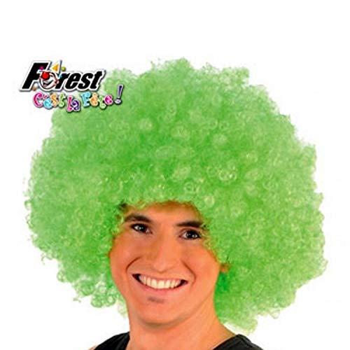 Perruque Afro Verte