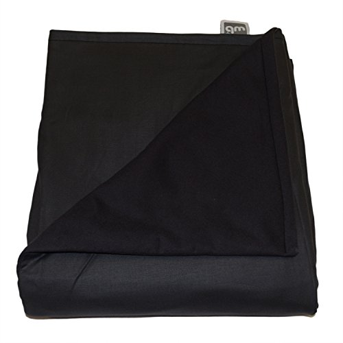 Weighted Blankets Plus LLC - Made in USA - Adult Large Weighted Blanket - Smoke - Cotton/Flannel (72' L x 42' W) 14lb Medium Pressure.
