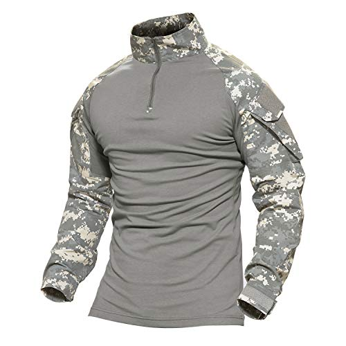 Tactical Long Sleeve Zip Shirt