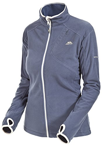 Trespass Damen Ultraleichtes Microfleece 150g/m² Saskia, Airforce Blue, XL, FAFLMFL10001_AFBXL