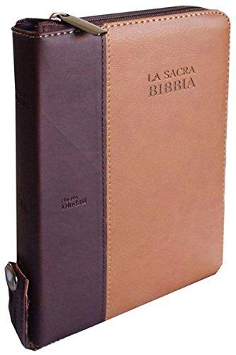 La Sacra Bibbia C03PMM con rubrica e cerniera