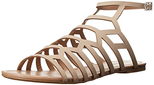 Call It Spring Women's Drireven Gladiator Sandal, Doeskin, 9 B US
