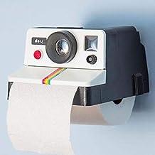 Graybird Polaroid camera stile WC bagno porta rotolo per bagno e toilette