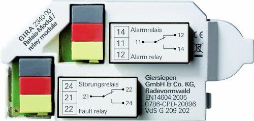 Gira 234000 Relaismodul Rauchwarnmelder Dual VdS Rauchmelder