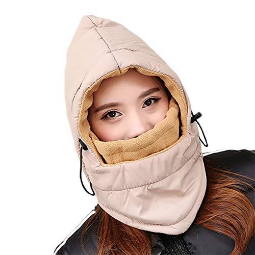 Ninjia Cagoule Balaclava Anti-poussière Cagoule Réglable équitation Masque pour Hiver Temps Ski Outdoor Moto Montagne Camping