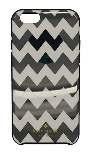 Kate Spade New York Black Chevron Print Hybrid Hardshell Case for iPhone 6 & 6S 840076138364 by Kate Spade New York
