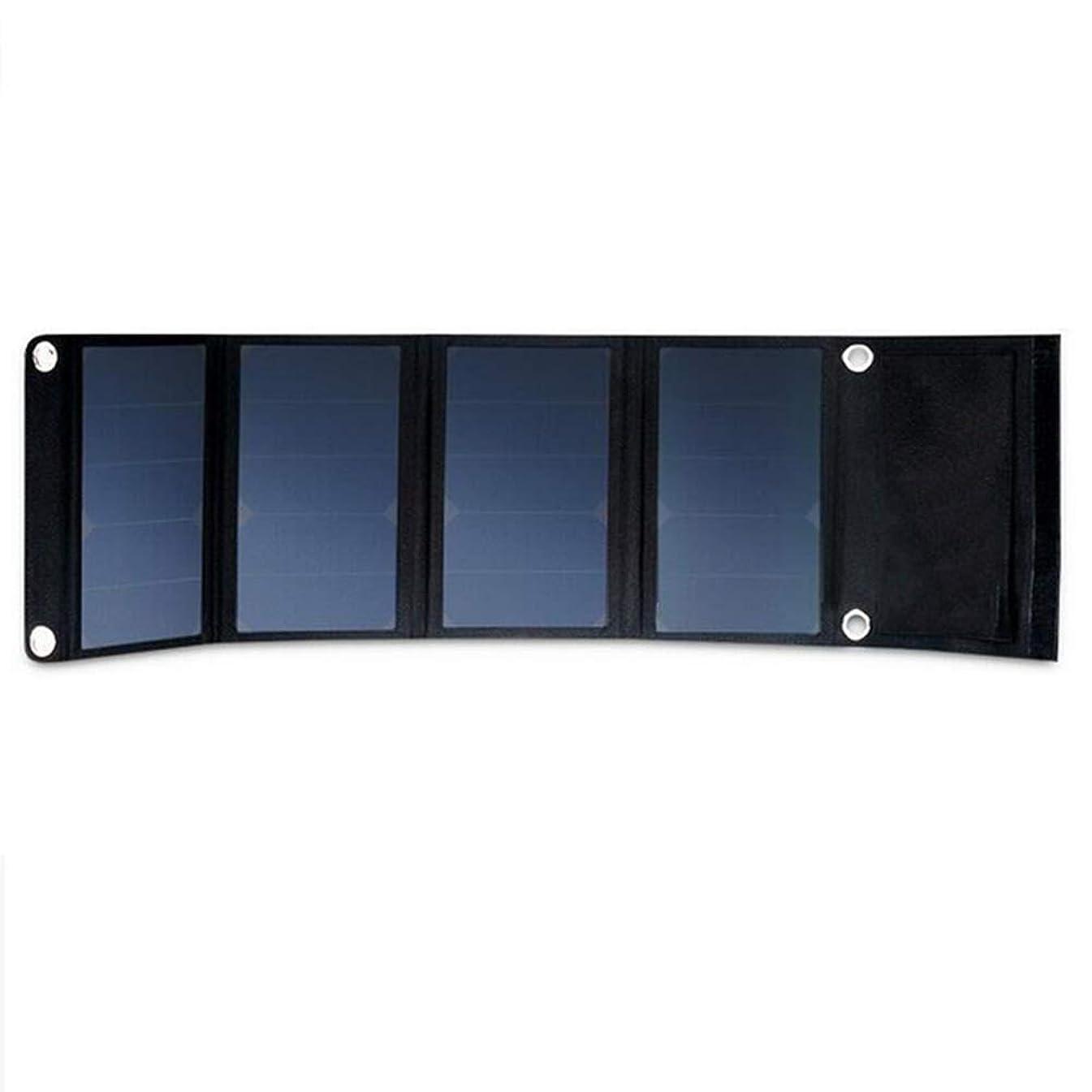 コロニー常識お願いします24W高効率ソーラーパワー銀行、折り畳み式のソーラーパネル充電パネル、パネルを充電屋外緊急ソーラー、家族旅行(1個)