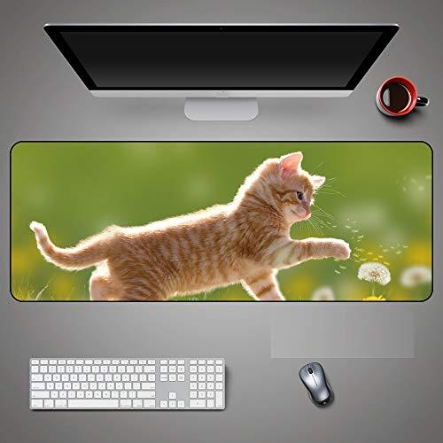 Almohadilla para el ratón de gran tamaño Almohadilla para el escritorio impermeable...