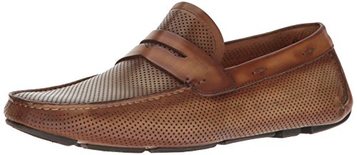 Magnanni Men's Damian Penny Loafer, Taupe, 10 M US