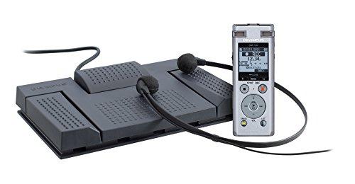 Olympus DM-720 Diktiergerät Aufnahme- und Transkriptions-Kit (4 GB Speicher, USB Direct, inkl.Ni-MH Akku)