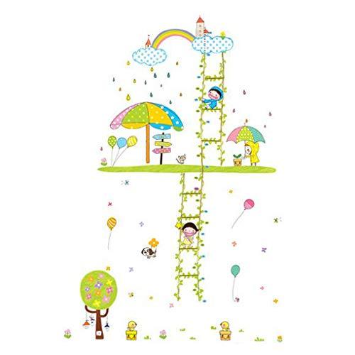 Dessin animé Stickers muraux fond d'écran Home Decor pour bébé garçons filles enfants Chambre à Décoration, Happy Children