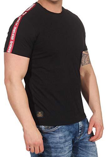 Alpha Industries RBF Tape T-Shirt Schwarz M