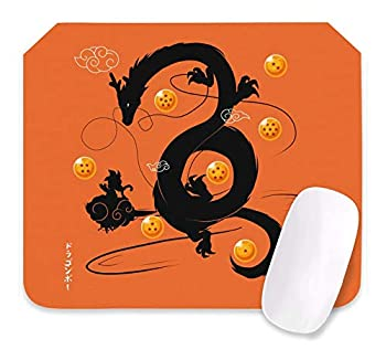 Dragon Ball Z Mouse Pad Anime Gaming Mouse Pad 10.6X12.6X0.2 Inch Edges Waterproof Mousepad Ideal for Desk Cover PC and Laptop-Dbz-4-one Size