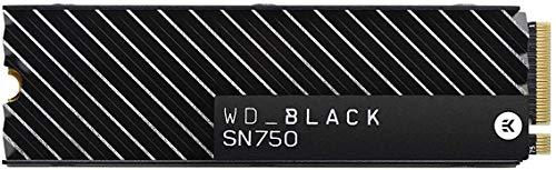 WD Black SN750 NVMe SSD Interno per Gaming ad Alte Prestazioni, 500 GB, Con Dissipatore di Calore