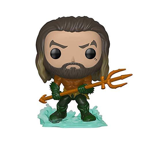 Funko- Pop: DC: Aquaman: Arthur Curry in Hero Suit, Multicolore, 31177