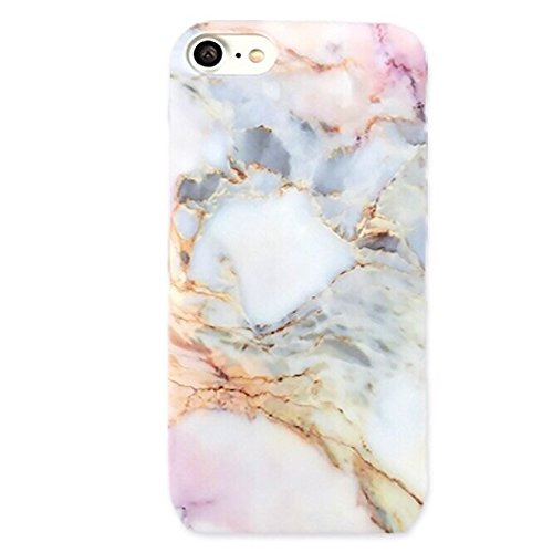 Pink White Pastel Protective Marble Phone Case by CASESALAMODE for iPhone 6  Plus a1a311329f
