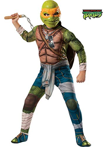 Teenage Mutant Ninja Turtle Michelangelo Deluxe Kostüm Gr.152-164