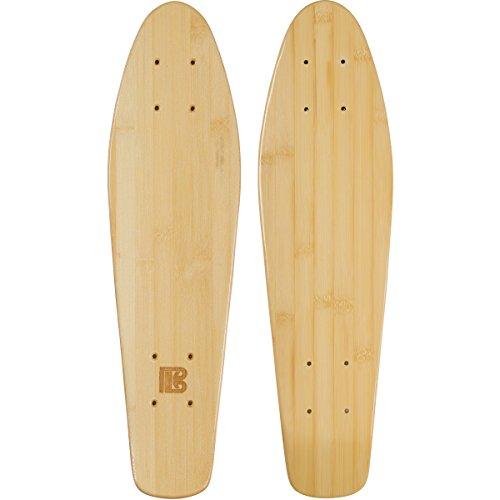 Bamboo Skateboards Mini Cruiser Blank Skateboard Deck, 6