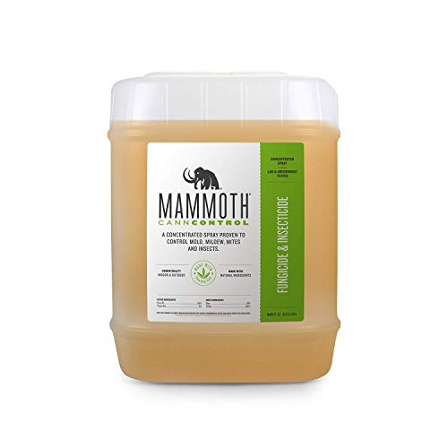 Mammoth CANNCONTROL Concentrated Insecticide Spray for Plants, Organic Pesticides for Vegetable and Spider Mites Spray for Indoor Outdoor Plants (250 ml)