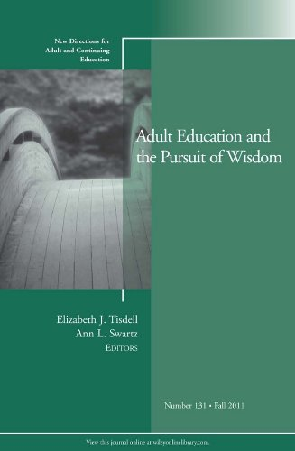 Compare Textbook Prices for Adult Education and the Pursuit of Wisdom: New Directions for Adult and Continuing Education, Number 131 1 Edition ISBN 9781118133279 by Tisdell, Elizabeth J.,Swartz, Ann L.