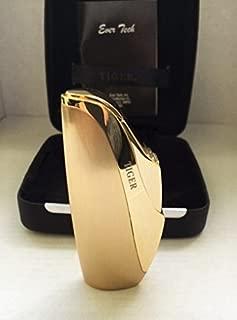 Elegant Gold Tiger Torch Lighter with Gift Case, TIGERM135B
