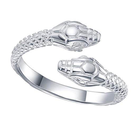 Halloween Snake Ring, verstelbaar Unisex, Slangsieraad voor hem of haar