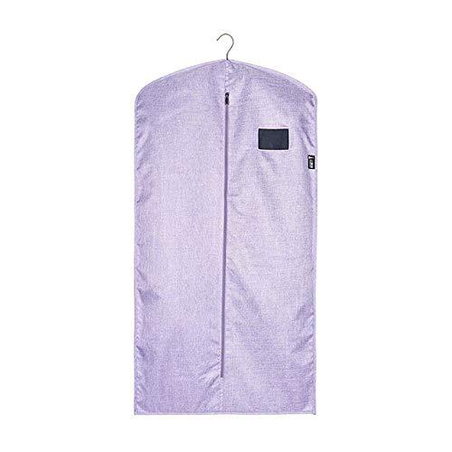 Dust cover Ropa de Piel Transpirable Cubierta de Polvo Cubierta de Abrigo de visón Bolsa de Polvo hogar Tela Oxford Cubierta de Almacenamiento Bolsillo Colgante(B; 58cm×110cm)