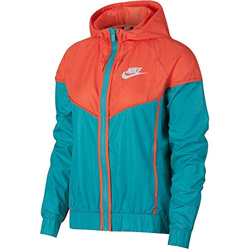 Nike Damen NSW WR Jacke, Cabana/Turf Orange/White, M