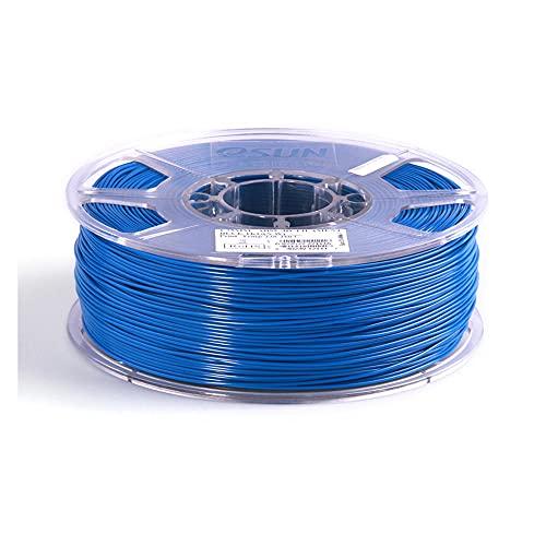 3D Printer Filament 1.75mm 1KG, ABS+ 3D Plastic Printing Filament 2.2 LBS Spool, 3D Printing Material for 3D Printer-Blue