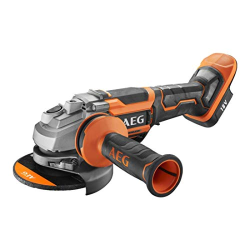 AEG 4935464419 BEWS 18-125BLPX-0-Amoladora Angular de 125 mm, sin batería ni Cargador, Otro