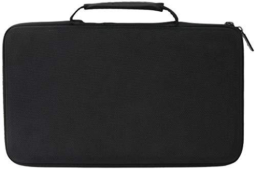 Khanka EVA Hart Reise Tragetasche Tasche Für Akai Professional MPK Mini MKII Kompakter USB MIDI Keyboard & Pad Controller. (Alles schwarz)