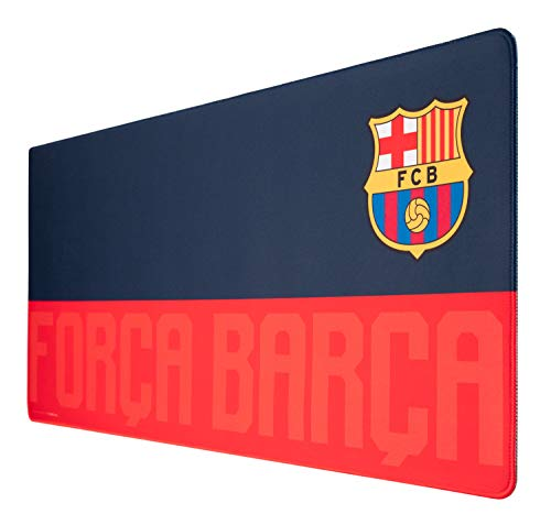 Alfombrilla ratón FC Barcelona - Alfombrilla gaming - Mousepad XL - Accesorios FC barcelona / Alfombrilla XXL - Alfombrilla escritorio - Tapete escritorio - Alfombrilla ratón accesorio gamer
