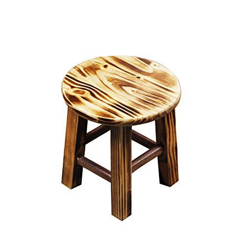bureaustoel lage krukken retro massief hout voetbank gestoffeerde voetsteun verandering schoenen woonkamer slaapkamer krukken make-up stoel
