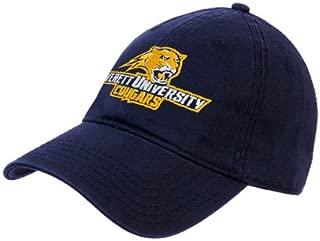 CollegeFanGear Averett Navy Twill Unstructured Low Profile Hat 'Averett University Cougars'