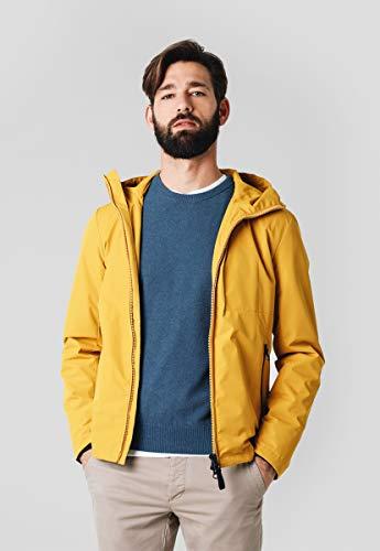 Scalpers Darell Jacket Chaqueta, Amarillo (Mustard 18595), Small (Tamaño del Fabricante:S) para Hombre