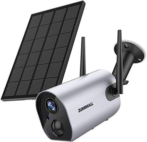 Zumimall Solar Surveillance Camera