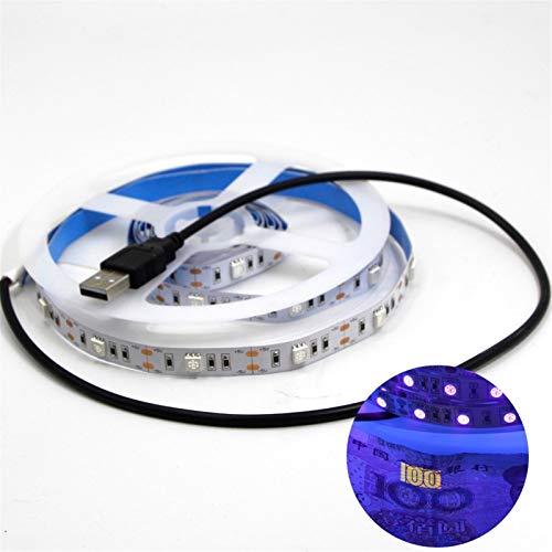 H/A USB/con Pilas portátiles 5V / 30LED lámpara UV germicida M, for baños, cocinas, retretes AZHAA (Color : 100cm, Emitting Color : USB Powered)