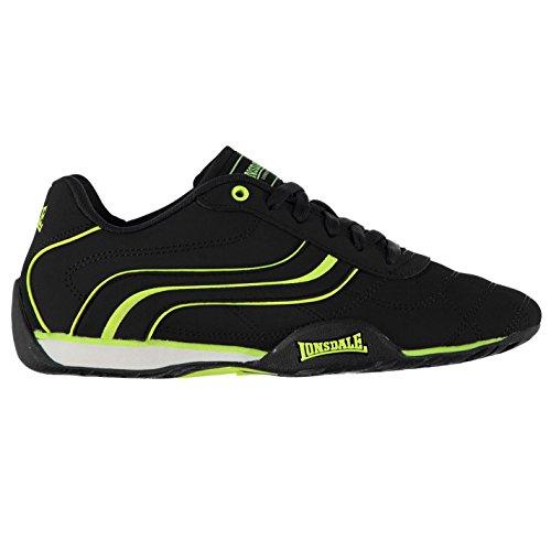 Lonsdale, Sneaker basse Camden da uomo con lacci, Blu (Blu e verde.), 42 2/3 EU