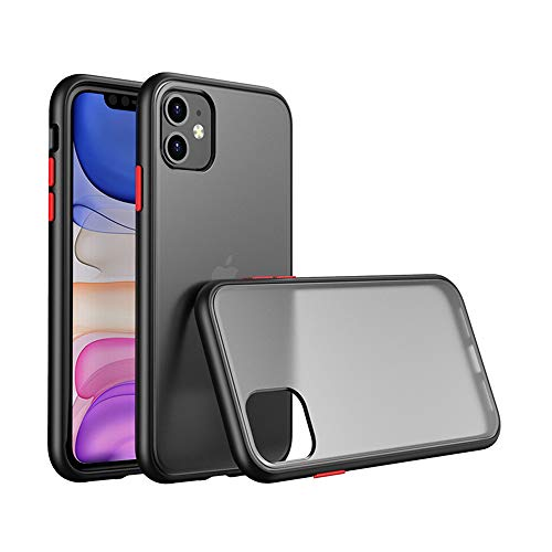 PFD Suitable for Apple iPhone case,iPhone 11Pro case, Frosted Anti-Scratch Back,TPU Soft Edge Anti-Drop,Suitable for iPhone 11Pro 5.8 (Balck, pro 5.8)